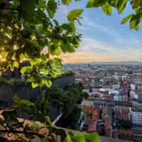 Milano, un party fotografico al tramonto: scatti dal Bosco Verticale