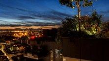 Un party fotografico    al tramonto: scatti  dal Bosco Verticale