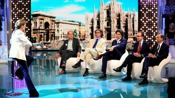 """Elezioni Milano, la D'Urso fa infuriare l'unica candidata: """"Censura le donne"""""""