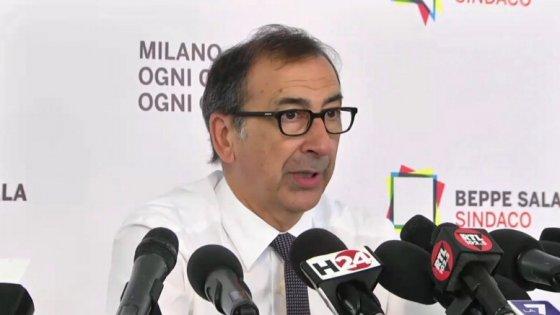 """Elezioni Milano, Renzi: """"Uno dei risultati migliori"""". Sala: """"Ripartiamo dalle idee"""""""