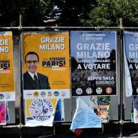Elezioni Milano, si va al ballottaggio: il refresh dei manifesti elettorali