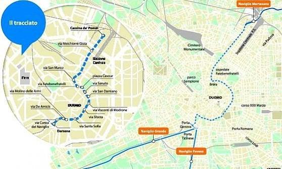 """Milano, il sogno di riaprire i Navigli: il progetto c'è già. Sala: """"Referendum nel 2017"""""""