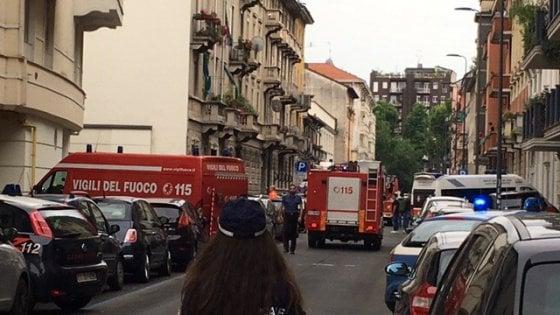 Milano, l'eroe della palazzina: Così ho salvato la bimba ustionata