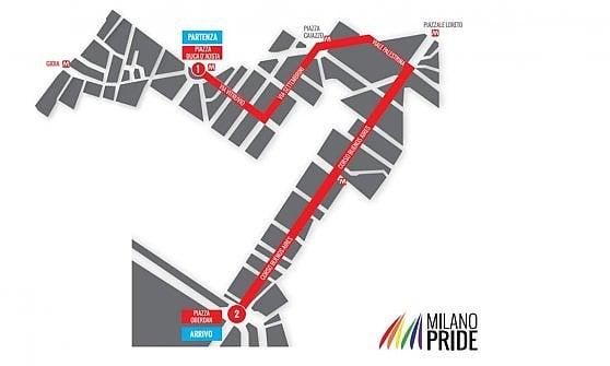 Gay Pride, Milano arcobaleno: sabato si sfila per i diritti Lgbt con la madrina Lodovica Comello