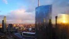 Il cielo gira in timelapse Sette giorni in 90'' dal Bosco Verticale