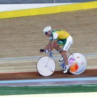 Milano, test finale al Vigorelli: in pista a 65 anni c'è Francesco Moser