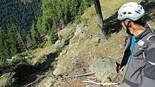 """Paura in Valfurva, la frana  di Ruinon torna a correre: """"60 cm al giorno"""""""