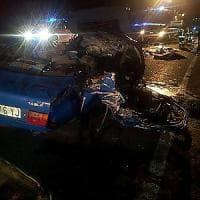 Scontro frontale nel Mantovano: quattro morti e un ferito grave