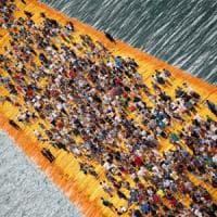 Lago d'Iseo, ultima chiamata per The Floating Piers: un milione e mezzo di visitatori per Christo