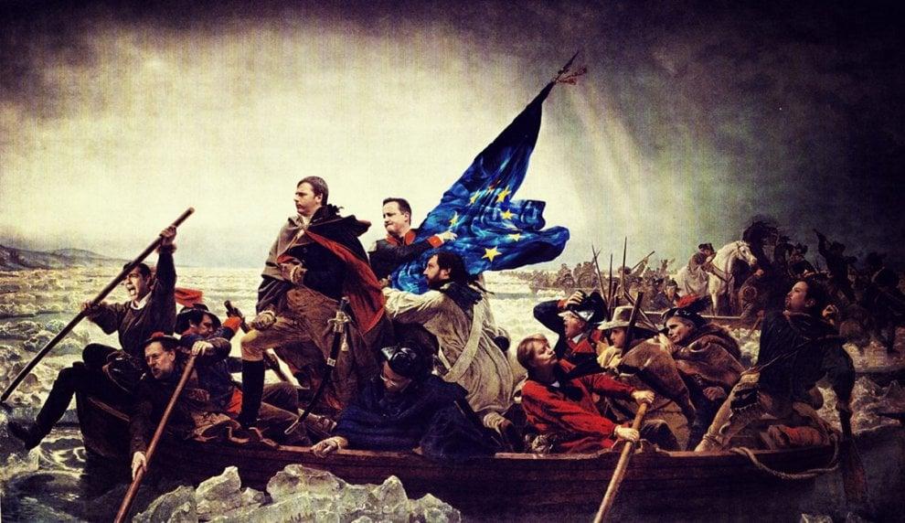 Renzi è Napoleone e la Boschi una pin up: i politici rivisitati da Beast in mostra