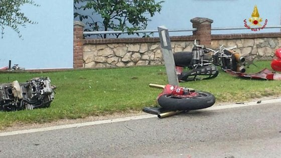 Dramma a Monte Marenzo, due morti in un incidente motociclistico