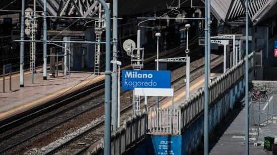Milano: donna travolta e uccisa da treno in transito