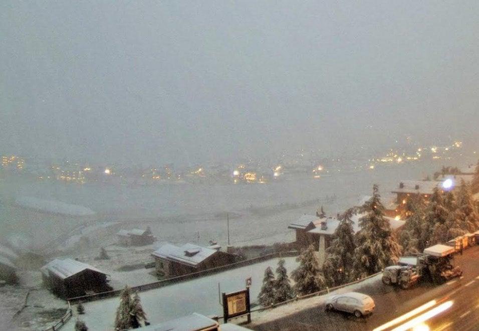 Livigno, luglio sotto la neve: le immagini delle webcam