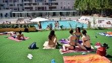 """""""Ma ora è la piscina Caimi  è di tutti, la bellezza  non è per fighetti""""   vd-     ft"""
