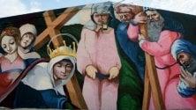Varese, lo street artist  di Caravaggio in trasferta  Tuffo nell'arte sarda