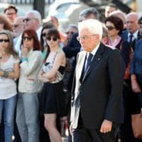 Nizza, Mattarella a Malpensa accoglie le salme di 4 vittime italiane