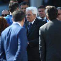 Malpensa, Mattarella accoglie le salme di quattro vittime italiane della strage di Nizza