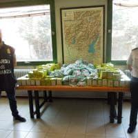 Brescia, traffico di tabacco dalla Germania: 60 kg spediti con il corriere espresso