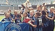Inter, le ragazze dell'under 15 vincono  la Coppa del mondo