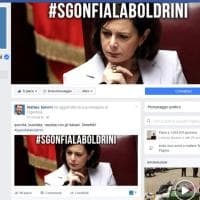 Salvini-Boldrini, e la bambola gonfiabile. Lui: