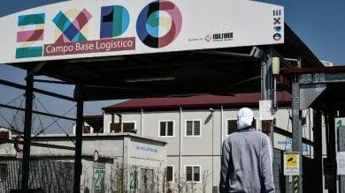 """A settembre profughi nel campo base Expo Sala: """"Maroni se ne faccia una ragione""""   ft"""
