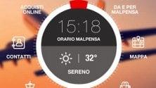 Per Malpensa e Linate  una app tutta nuova: chat    e servizio 'Richiamami'