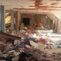Palazzina esplosa a Milano, la devastazione in casa Pellicanò