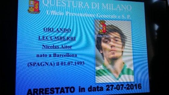 Milano, arrestato il falso turista picchiatore