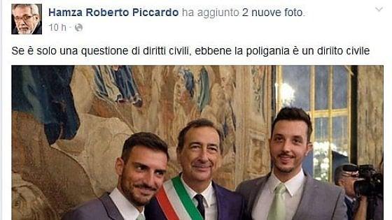 """""""Anche la poligamia è un diritto"""": Piccardo (Ucoii) su Fb dopo le unioni civili a Milano"""
