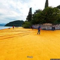 The Floating Piers, la nostalgia è social e viaggia su Google