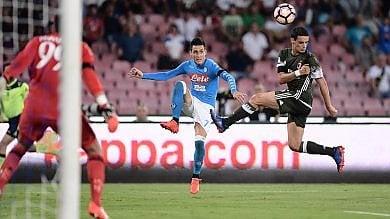 """Al San Paolo Milan """"rosso"""" di rabbia due espulsi, il Napoli vince 4-2"""