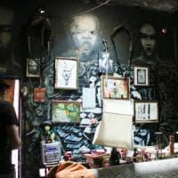 Graffiti e street art, nel castello di Zakula a Milano: un museo segreto