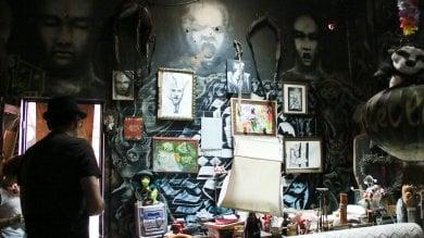 Graffiti e street art nel castello di Zakula il tempio dei writer