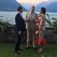 Mark Zuckerberg è già in Italia, sul lago di Como per le nozze del fondatore di Spotify
