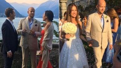 Mark Zuckerberg è in Italia, sul lago di Como per le nozze del fondatore di Spotify