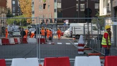 M4, parte il cantiere di via Vettabbia   foto   Sconti sulle tasse per i negozianti