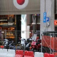 Milano, troppe moto in sosta selvaggia in centro: