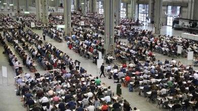 Foto  Più di tremila studenti iscritti al test  della facoltà di Medicina del San Raffaele