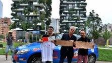 Giro del mondo in 80 giorni, il viaggio è green    tappa al Bosco Verticale