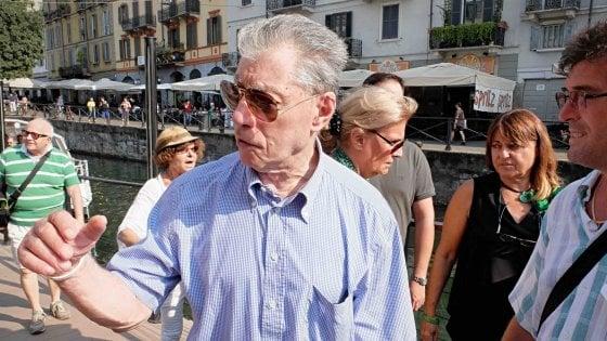 """Milano, Bossi sui Navigli affonda i big della Lega: """"Salvini e Maroni? Hanno sbagliato rotta"""""""