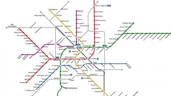 """Metrò Milano, un passaggio pedonale tra M4 e M3: """"Le linee saranno connesse"""""""