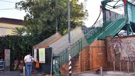 Milano, ancora due mesi di chiusura per il ponte degli artisti: ora interventi sulla struttura