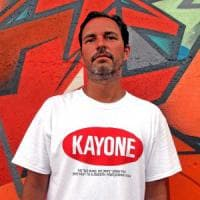 Il graffitaro Kayone: