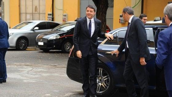 Milano, Renzi inaugura la settimana della moda: pranzo con i big al Museo delle culture