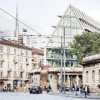 Milano, le piramidi in vetro di Herzog per i 200mila libri della fondazione Feltrinelli: Porta Volta cambia volto