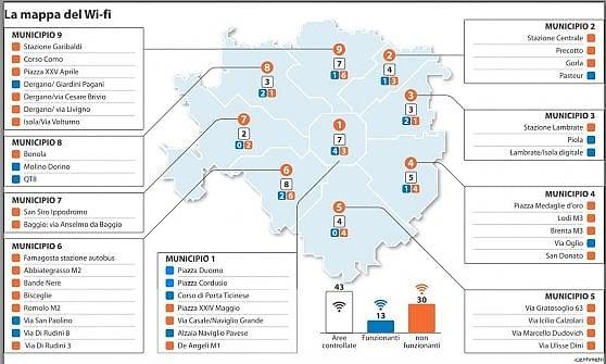 Milano, a caccia del wi-fi tra piazze e metrò: tutto bene in centro, male in periferia