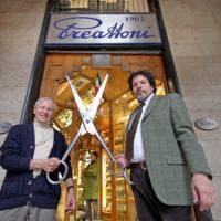 Via Spiga, la boutique dei coltelli che resiste da 70 anni