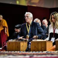 Dalai Lama a Milano, Richard Gere in prima fila