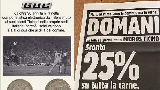 Tensioni Italia-Canton Ticino, dopo le polemiche sul referendum la guerra è a colpi di pubblicità