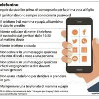 Infanzia, 8 cose da sapere prima di consegnare il cellulare a tuo figlio